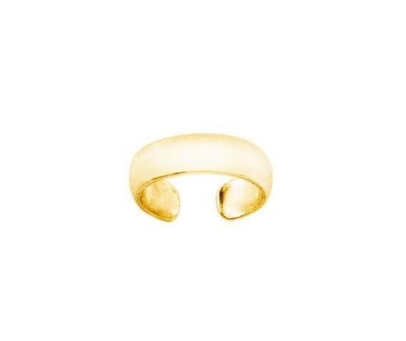 Мини кафф кольцо из золота