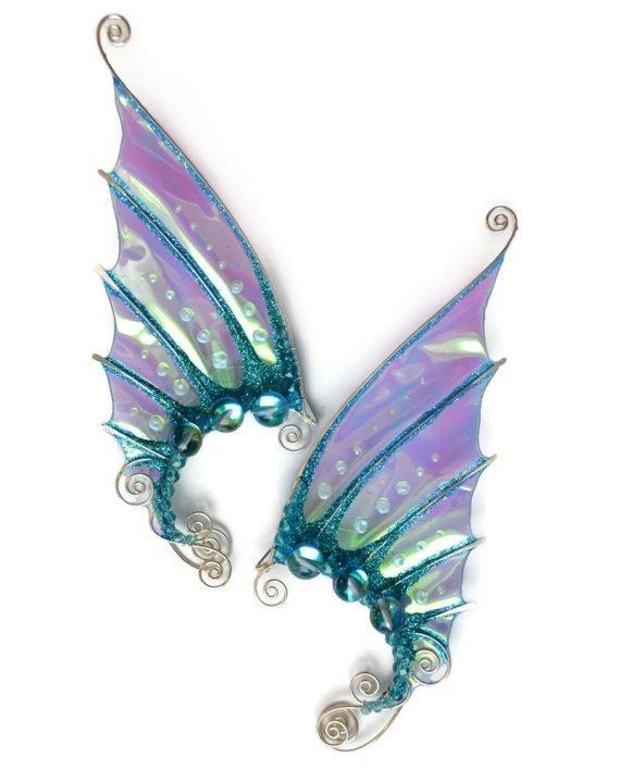 Каффы русальи уши голубые