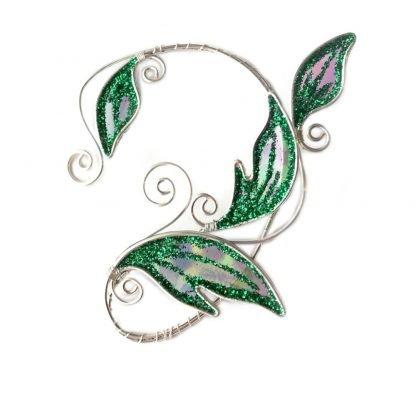 Кафф эльфийский листик изумрудный