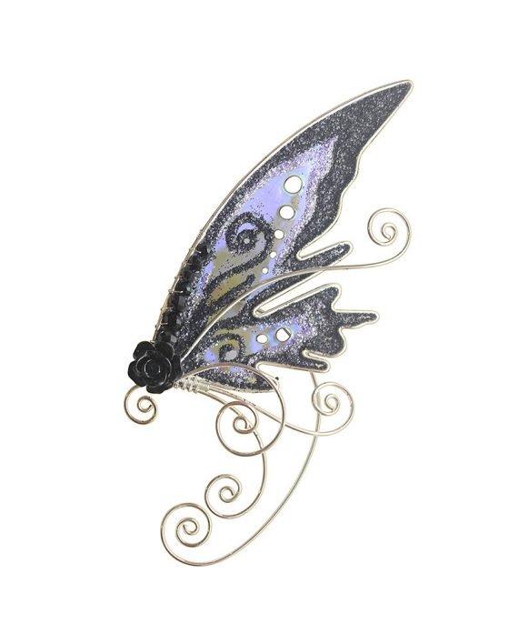 Кафф эльфийское крылышко черное купить