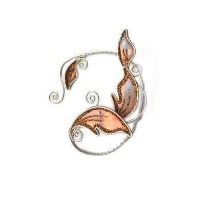 Кафф эльфийский листик золотистый