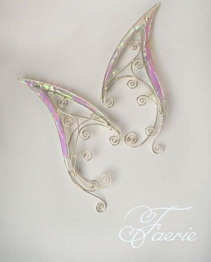 Каффы удлиненные эльфийские ушки белые