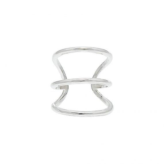 Кафф 3 кольца купить в интернет магазине