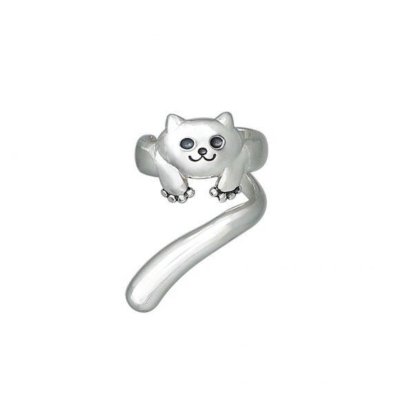 Котик серьги каффы