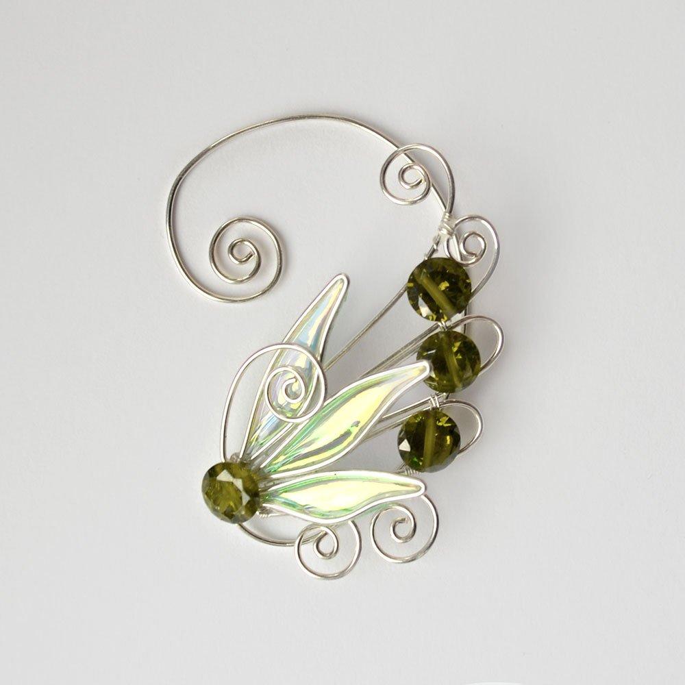 Кафф крылышко оливковое