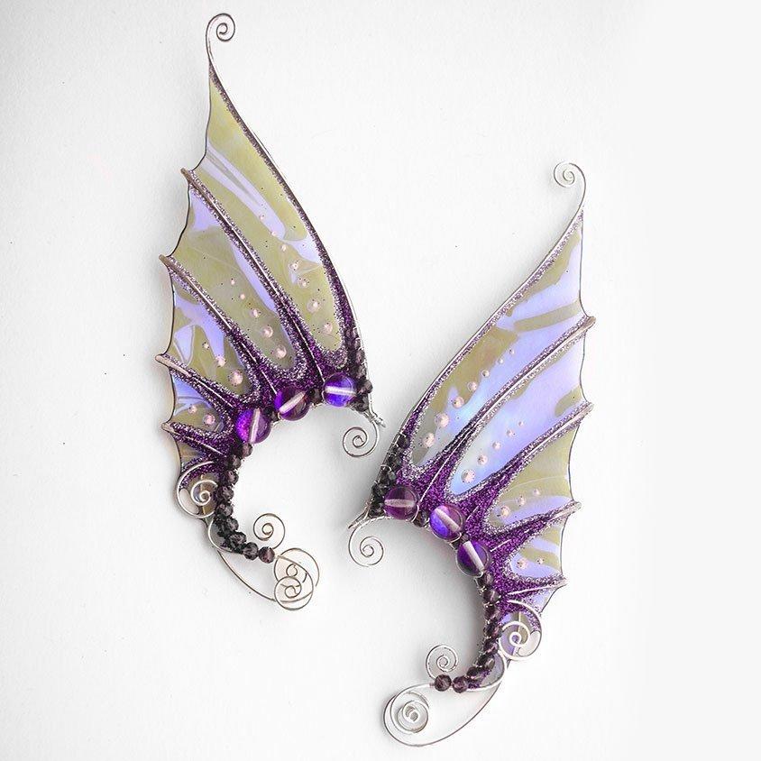 Каффы русальи уши фиолетовые