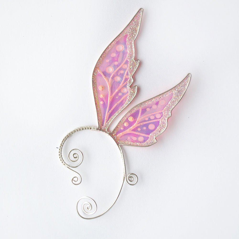 Кафф крылья феи розовый интернет магазин